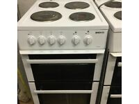Beko 50! Cm electric cooker in mint condition with a warranty