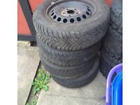Spare tyres or replacement for VW , AUDI , SEAT OR SKODA