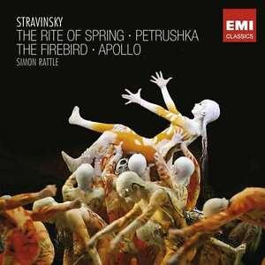 Sir Simon Rattle - Stravinsky: The Rite Of Spring NEW CD