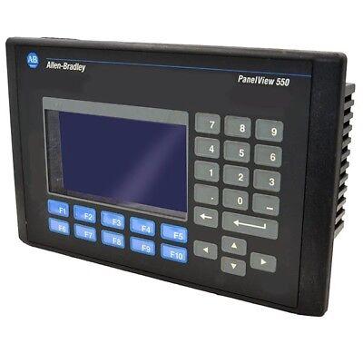 2711-k5a1-h Allen Bradley 0.15a 240vac 5.5in Hmi Panelview 550 --sa