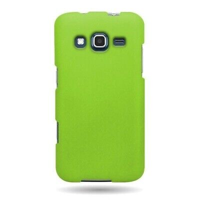 Hard Rubberized Matte Neon Green Cover Case for Samsung Ativ S Neo i800 I8675 for sale  Shipping to India