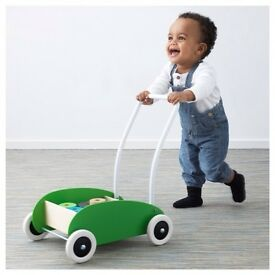 IKEA mula wagon trolley baby walker