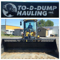 To-D-Dump Hauling .. Local Garbage Removal Specialists