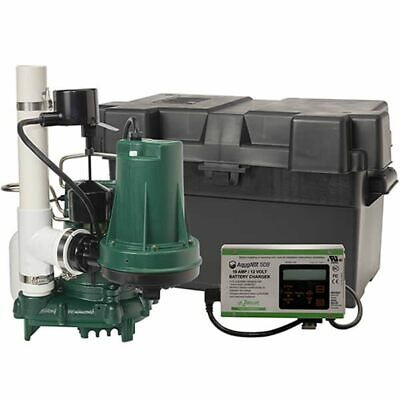 Zoeller Propack53 Spin - 13 Hp Combination Primary Backup Sump Pump System