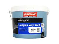Johnstone's Paint Covaplus Vinyl Matt Brilliant White 10l