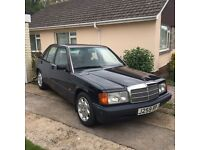 Mercedes Benz 190e 2.0 Petrol Manual Gearbox - amazing condition huge history
