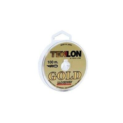 port gratis 100 m fil de peche nylon grauvell teklon gold du 8 au 20 7 tailles