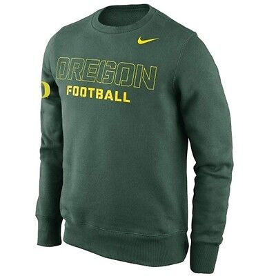 Oregon Crew Sweatshirt - Nike Oregon Ducks Practice Crew Sweatshirt Green