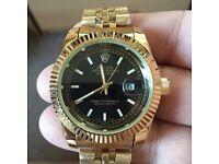 Rolex Datejust Quartz Gold coloured for sale