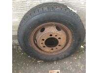 TRANSIT NEW TYRE WITH WHEEL