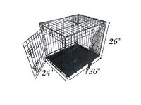 """36"""" Dog Crate IN NEW CONDITION"""