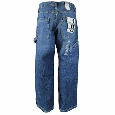 Levi's Men's Silver Tab Loose Fit Carpenter Jean Light Rinse Blue 446600039 Loose Carpenter Jeans