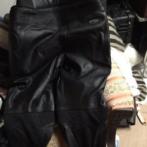 Leather motorcycle pants  perforated leather London Ontario image 3