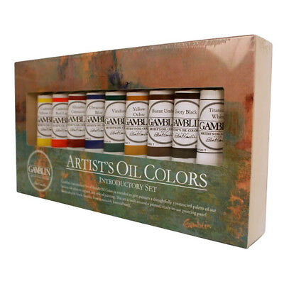 Gamblin Artists Oil Painting Introduction Set, used for sale  Shipping to Ireland