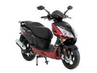 Lexmoto Titan 125 EFI CBT Learner Legal 125cc Scooter - Red