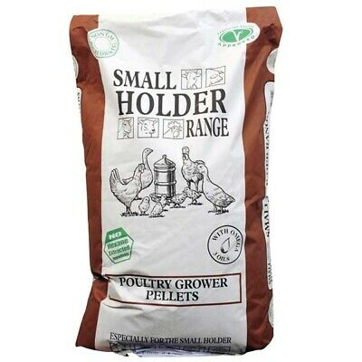 5KG Allen & Page Small Holder Range Poultry Grower Pellets Chicken Bantam Food