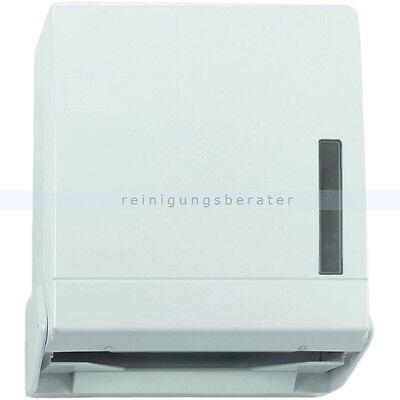 Handtuchspender f. Papierhandtücher Falthandtuchspender weiß für 600 Blatt