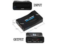 SCART to HDMI Converter/Upscaler *Brand New and now reduced to £10 to clear*