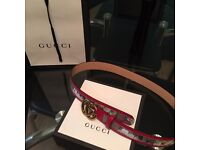 Authentic Gucci Belt (new design)