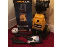 New boxed pressure washer like karcher 150 bar electric 15 meter reel ect