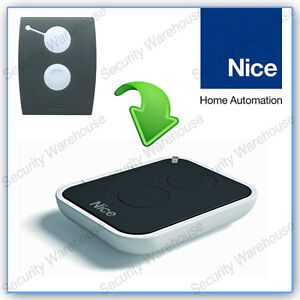 U9A3 NICE ON2E 2 Button Key Fob Remote Control Rolling Code Electric Gate Floor