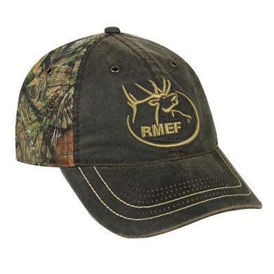Rocky Mountain Elk (Rocky Mountain Elk Foundation Cap- Brown/MOC)