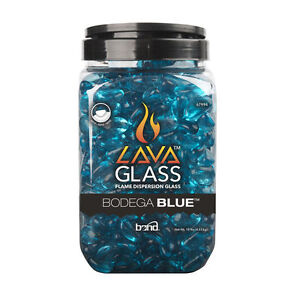 10LB Fire Lava Glass for Fire Table - Blue (Brand New/Unopened)