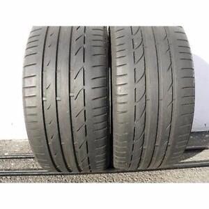 235/60/17 Bridgestone Turanza EL400 All Season 2 used tires, 75% tread left