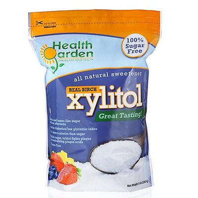 Health Garden Kosher Real Birch Xylitol 5 lbs. Product of USA (Not From Corn)