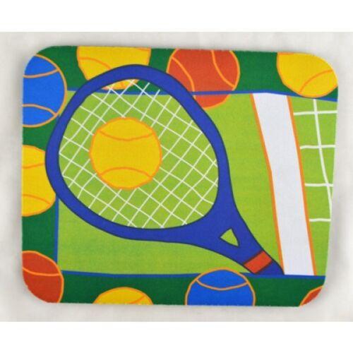 Racquet & Tennis Balls Mouse Pad