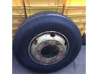 TRUCK TYRE BRAND NEW ON RIM