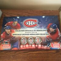 2009-2010 Montreal Canadiens Medallion Collection