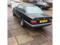 MERCEDES E220 COUPE - w124 - OPEN TO OFFERS OR SWAPS