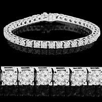 Impressive Diamond Tennis Bracelet 3.90CTW Bracelet en Diamants