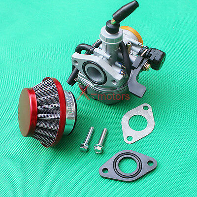 PZ19 Carburetor air filter for 50cc 70cc 90cc 110cc ATV Pit dirt bike SSR (70cc Pit Dirt Bike)
