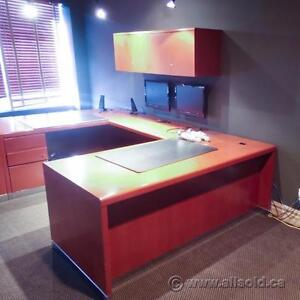 Office Desks in All Shapes, Sizes, and Finishes. Large Quantity and Variety.
