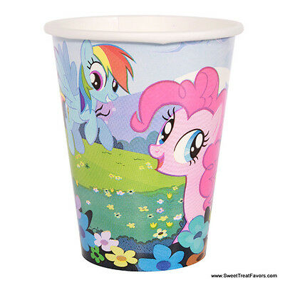 My Little Pony Party CUPS Supplies Decoration Birthday Pink Horse Girl Favors x8 (Pink Party Cups)