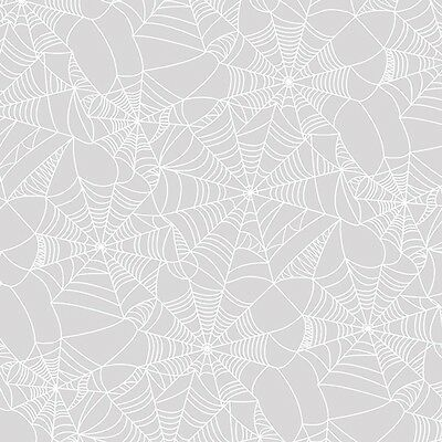 Scrapbooking Crafts 12X12 Paper PH Halloween Acetate Cobwebs White Clear (White Paper Halloween Crafts)