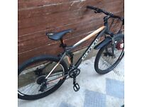 NEW Carrera Titan mountain bike disc brakes + suspension