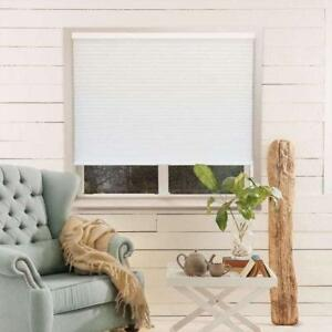 "NEW Chicology White Light Filtering Privacy Cordless Honeycomb Cellular Shade - 30""w x 48""h"