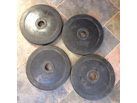 "Rubber Weight Plates for 2"" Olympic bar"