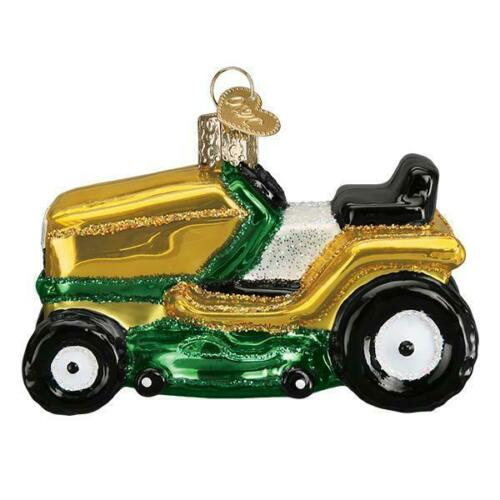 """Riding Lawn Mower"" (46085)X Old World Christmas Ornament w/OWC Box"