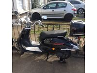 125 cc, 4000 miles, accept offers or trades