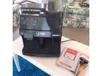 Italian Coffee Machine, Espresso Maker, Bean Grinder & Milk Warmer