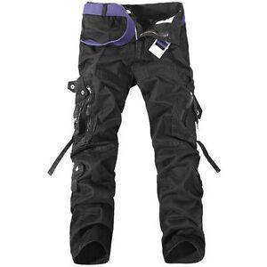 Skinny Cargo Pants Men | eBay