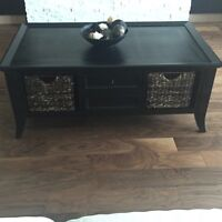 Coffee table and 2 piece end table
