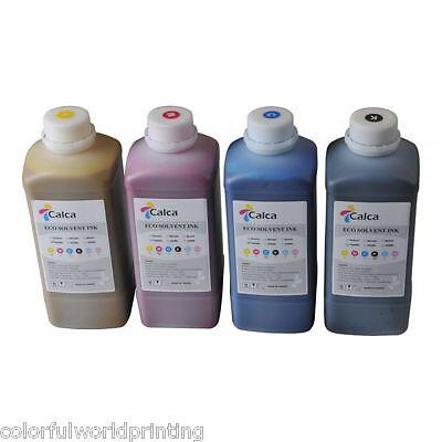 Compatible Mimaki Eco Solvent Ink - 4 Colors C M Y K
