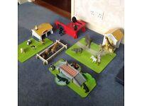 Safari play set, Wooden by ELC