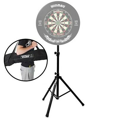 Gorilla Arrow Pro Portable Dartboard Professional Darts Caddy Dart Board Stand