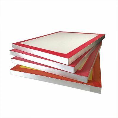 6 Pcs Aluminum Frame Silk Screen Printing Screens 20 X 24 White 160 Mesh Count
